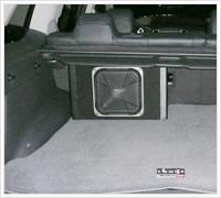 ウーハー取り付け(トランク設置タイプ)