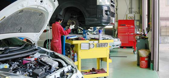 国産車法定12ヶ月定期点検